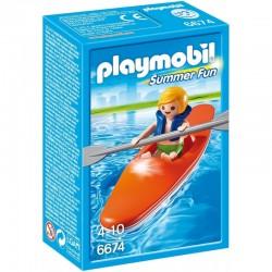 PLAYMOBIL 6674 SUMMER FUN Kajak dla Dzieci