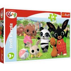 TREFL Puzzle Układanka KRÓLIK BING Maxi 24 el. 14306