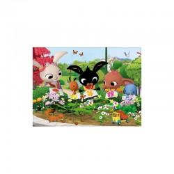 LISCIANI Puzzle Maxi 24 el. KRÓLIK BING Podziwianie Natury 81219