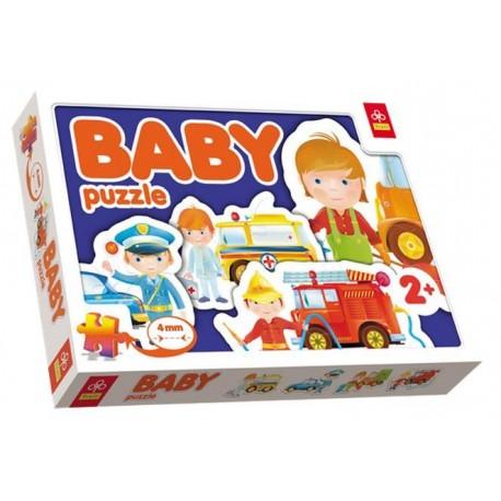 Trefl - 36032 - Puzzle Baby - Pojazdy Interwencyjne
