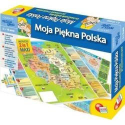 LISCIANI I'm a Genius Puzzle Edukacyjne MOJA PIĘKNA POLSKA 108 el. 42043