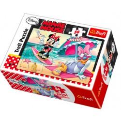 TREFL Puzzle MINI 54 el. Mini Układanka MINNIE I DAISY 19473