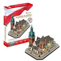 Dante CubicFun PUZZLE 3D Katedra na Wawelu 101 el. 20226