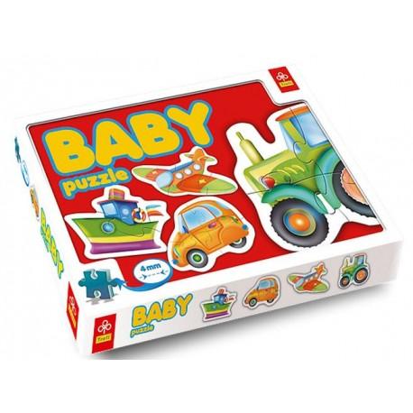 Trefl - 36013 - Puzzle Baby - Pojazdy