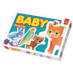 Trefl - 36015 - Puzzle Baby - Pupile