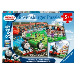 RAVENSBURGER Puzzle Układanka 3x49 el. TOMEK I PRZYJACIELE 080373