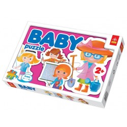 Trefl - 36033 - Puzzle Baby - Zawody