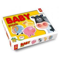 Trefl - 36011 - Puzzle Baby - Zwierzęta Domowe