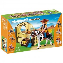 PLAYMOBIL 5516 COUNTRY Koń Tinker z Boksem - Kitty
