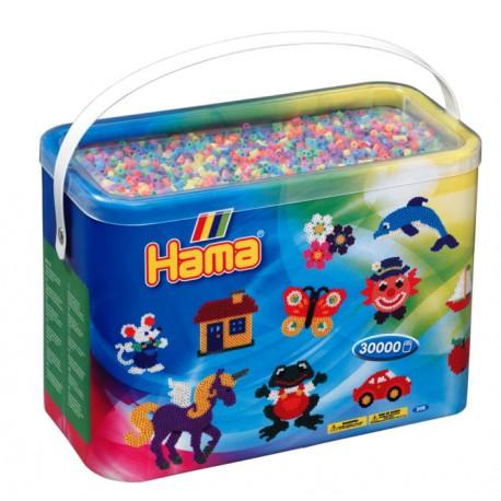 Hama - Midi - 20850 - Koraliki Mix 50 - Zestaw Uzupełniający 30 000 szt.