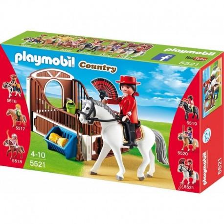 PLAYMOBIL 5521 COUNTRY Koń Andaluzyjski z Boksem - Luna
