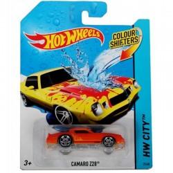HOT WHEELS Auto zmieniające kolor w wodzie CAMARO Z28 BHR50