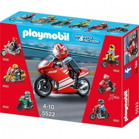 PLAYMOBIL 5522 SPORTS & ACTION Motocykle - Superbike