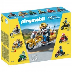 PLAYMOBIL 5523 SPORTS & ACTION Motocykle - Street Tourer