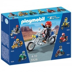 PLAYMOBIL 5526 SPORTS & ACTION Motocykle - Eagle Cruiser