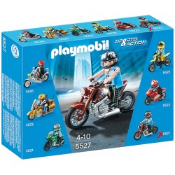PLAYMOBIL 5527 SPORTS & ACTION Motocykle - Muscle Bike