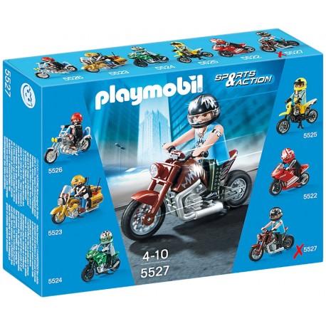 PLAYMOBIL 5527 SPORTS & ACTION Motocykle - Muscle Bike