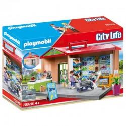 PLAYMOBIL City Life 70320 Przenośny Sklep z Warzywami