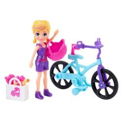 Mattel Polly Pocket PRZEJAŻDŻKA NA ROWERZE GFP94