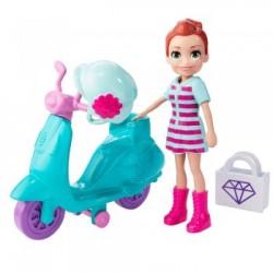 Mattel Polly Pocket PRZEJAŻDŻKA NA SKUTERZE GFP95