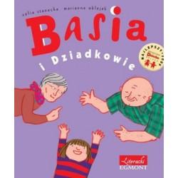 EGMONT Książka dla Dzieci Literatura Dziecięca BASIA I DZIADKOWIE 753605