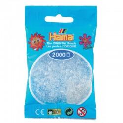Hama - Mini - 50119 - Koraliki Transparentne - Zestaw Uzupełniający 2000 szt.