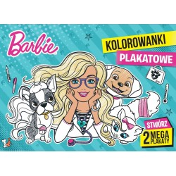 Ameet PLAKATOWE KOLOROWANKI Lalka Barbie 327125