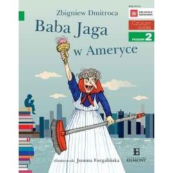 EGMONT Książka dla Dzieci Poziom 2 Czytam Sobie BABA JAGA W AMERYCE 5810
