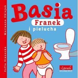 EGMONT Książka dla Dzieci Literatura Dziecięca BASIA. FRANEK I PIELUCHA 147911