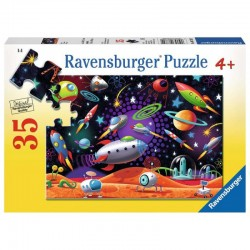 RAVENSBURGER Układanka Puzzle KOSMOS 35 el.087822