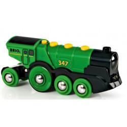 Brio - 33593 - Lokomotywa - Zielona
