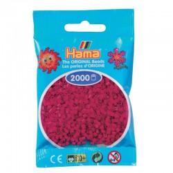 Hama - Mini - 50129 - Koraliki Różowe Fukcja - Zestaw Uzupełniający 2000 szt.