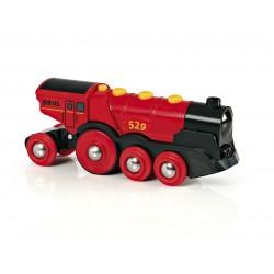 Brio - 33592 - Lokomotywa - Czerwona