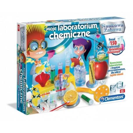 Clementoni - 60250 - Zestaw Naukowy - Naukowa Zabawa - Moje Laboratorium Chemiczne