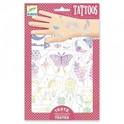 DJECO Zestaw Tatuaży TALIZMANY 09596