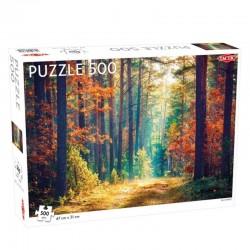 Tactic Puzzle Układanka FALL FOREST Las 500 el. 56653