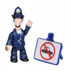 LISTONOSZ PAT Figurka Policjant Selby i Znak 06535