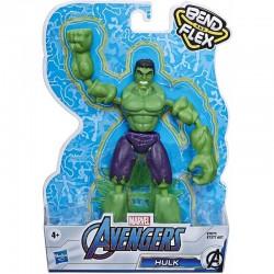 Hasbro Marvel AVENGERS Figurka HULK Bend and Flex 15cm E7871