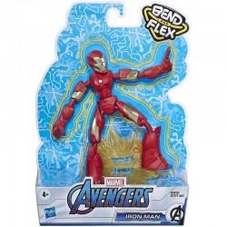 Hasbro Marvel AVENGERS Figurka IRON MAN Bend and Flex 15cm E7870