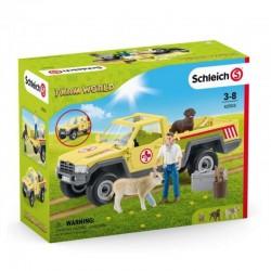 SCHLEICH Farm World Weterynarz Na Farmie Samochód 42503