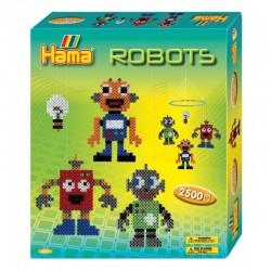 Hama - Midi - 3227 - Zestaw 2500 szt. - Karuzela Roboty