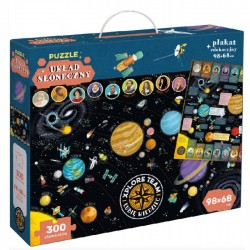 CzuCzu XPLORE TEAM Puzzle Układ Słoneczny 300 Elementów 6607576