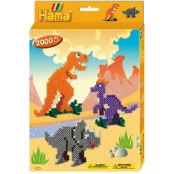 Hama - Midi - 3434 - Zestaw 2000 szt. - Dinozaury