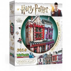 WREBBIT Puzzle 3D Harry Potter QUIDDITCH SUPPLIES 0509