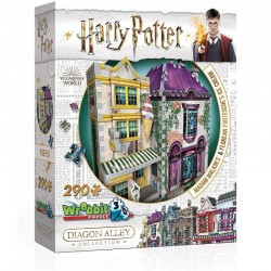 WREBBIT Puzzle 3D Harry Potter MADAM MALKIN'S 0510