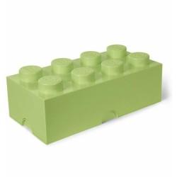 LEGO Pojemnik 8 na Zabawki PASTELOWA ZIELEŃ 9647