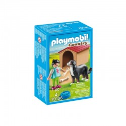 PLAYMOBIL Country 70136 Pies z Budą