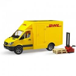 BRUDER MB Sprinter DHL Samochód Dostawczy 02534