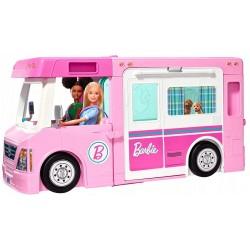 Mattel BARBIE Kamper Barbie 3w1 WYMARZONY KAMPER GHL93