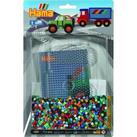 Hama - Midi - 4022 - Zestaw 2000 szt. - Ciężarówki